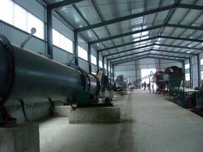 3万吨有机肥安装现场